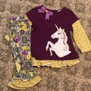 Unicorn and Flower outfit